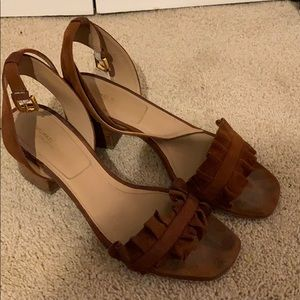 Michael Kors collection block heel sandal sz38